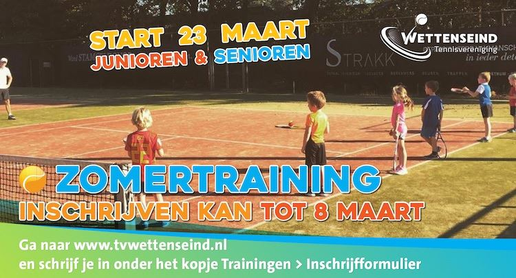 Zomertraining 2020